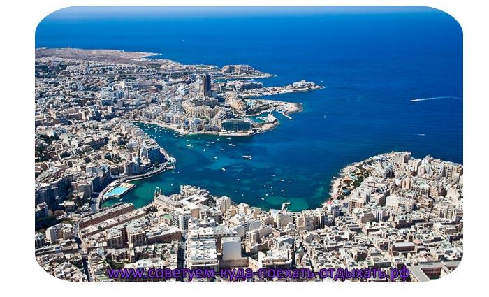 Мальта на карте мира. Остров Мальта