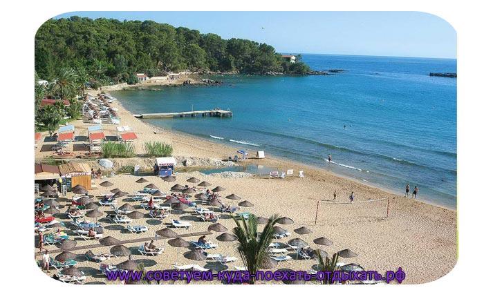Курорты Турции на Средиземном море с песчаным пляжем. Фото, описание