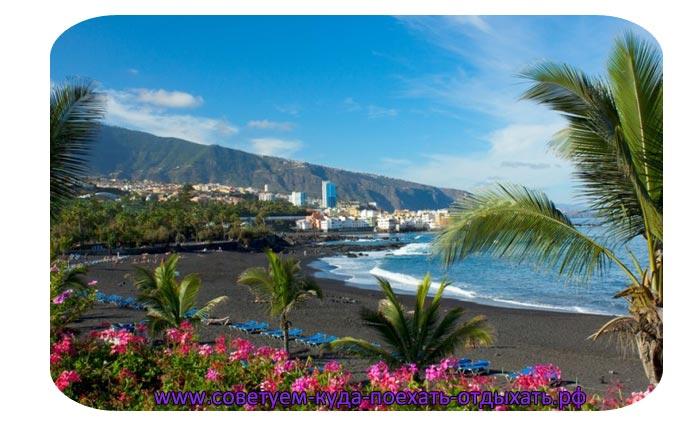 Погода на Тенерифе по месяцам и температура воды. Тенерифе зимой, весной, летом и осенью