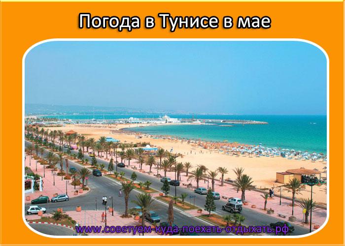 Погода в Тунисе в мае 2020 температура воды и воздуха.  Весна в Тунисе: какая погода