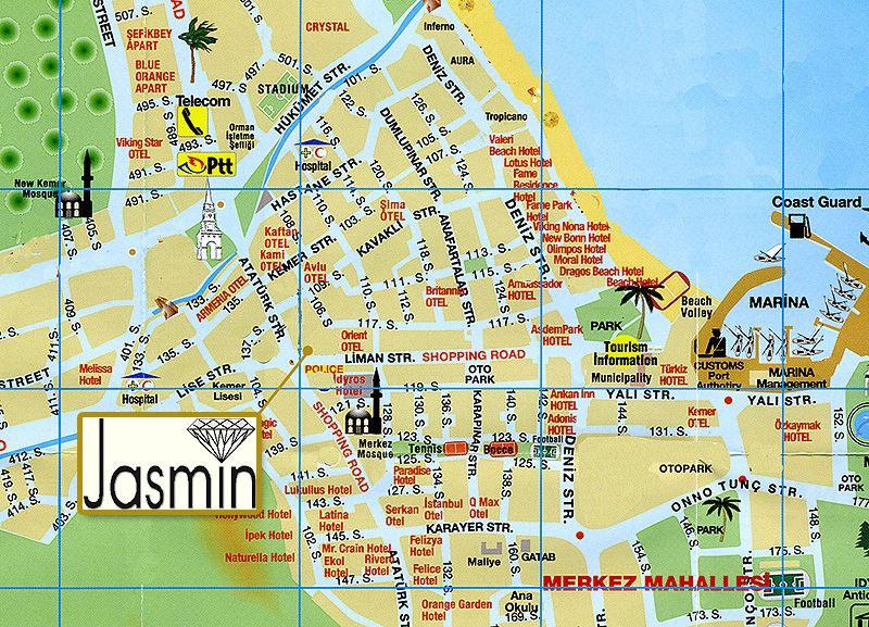Карта Города С Магазинами