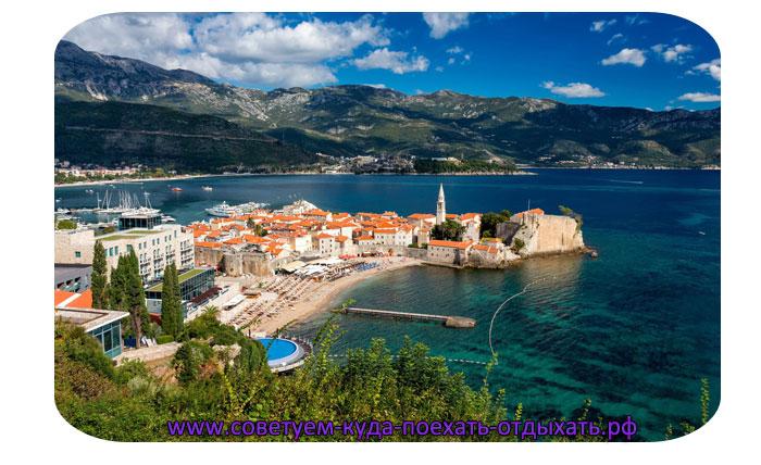 Черногория города курорты у моря. Отдых в Черногории