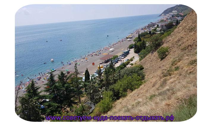 Рыбачье Крым фото поселка и пляжа. Новые фото курорта