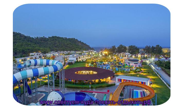 Кемер фото города и пляжей. Турция курорт Кемер