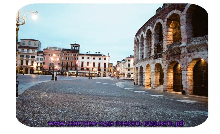 Верона на карте Италии. Где находится, как добраться