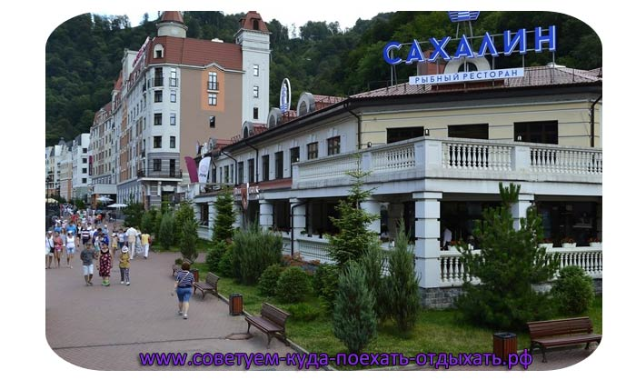 Краснодарский край Хоста: фото города и пляжа, достопримечательности, отзывы