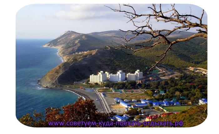 Большой Утриш фото поселка и пляжа. Красивые фото курорта