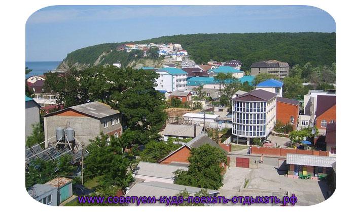 Новомихайловский фото поселка, пляжей и достопримечательностей. Реальные фото туристов